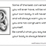 Can Your Body Talk to You?